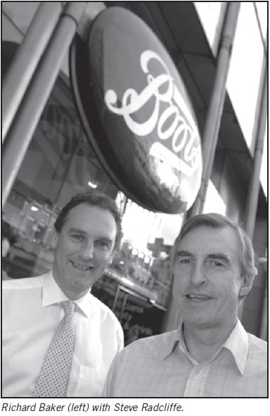 Photo of Steve Radcliffe & Richard Baker - Boots Leadership