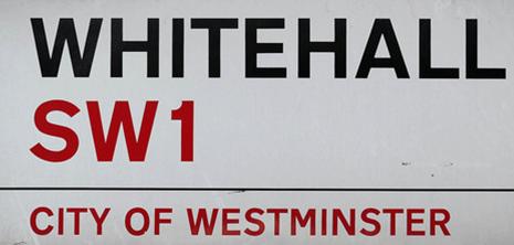 NEW WHITEHALL SIGN